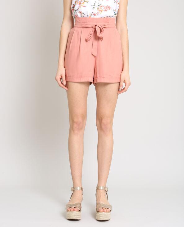 Short morbido rosa cipria