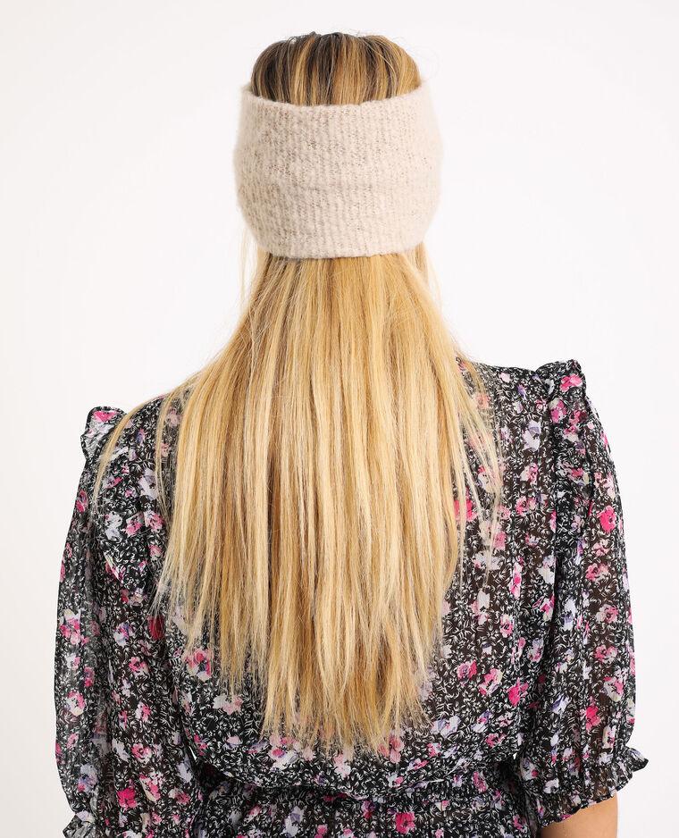 Fascia in maglia beige corda - Pimkie