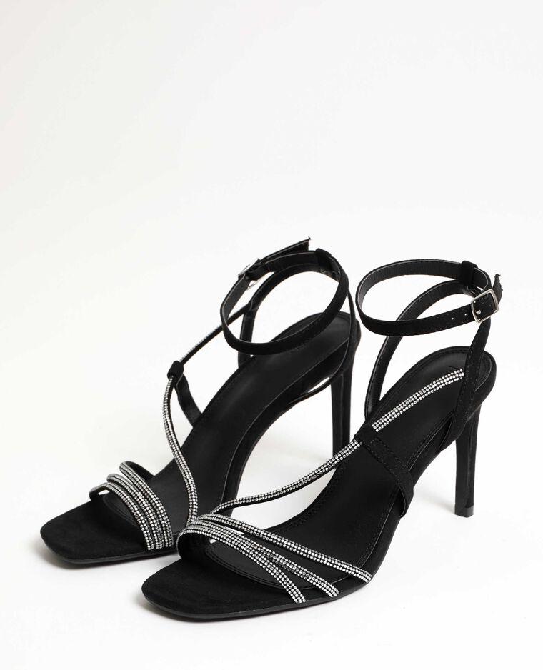 Sandali con tacchi a spillo nero