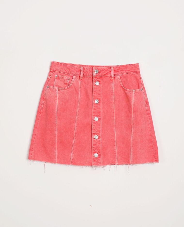 Gonna di jeans rosa