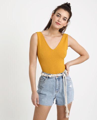 Body aperto dietro giallo