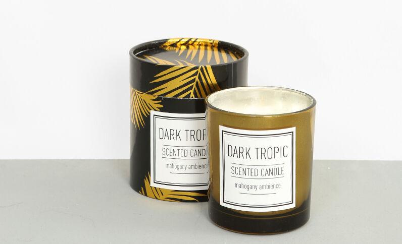 "Candela profumata ""Dark tropic"" nero"