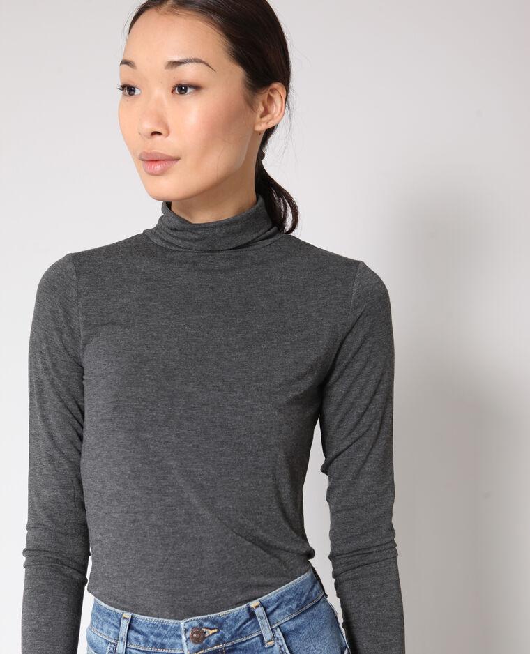 T-shirt Dolcevita grigio