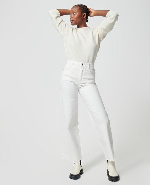 Jeans wide écru - Pimkie