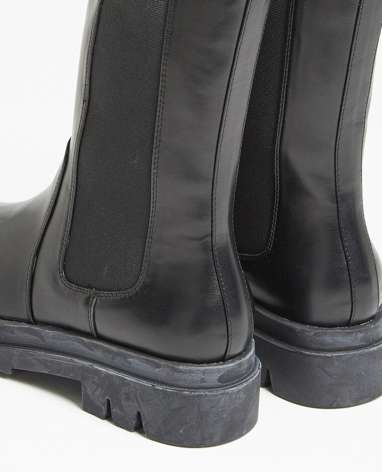 Stivali in finta pelle nero - Pimkie