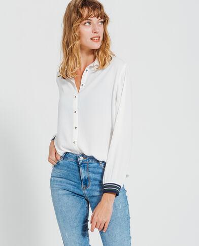 Camicia morbida bianco