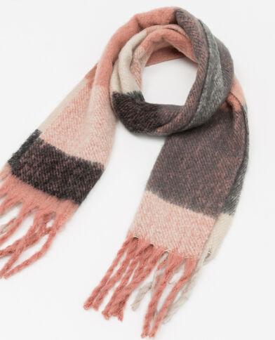 Sciarpa calda rosa
