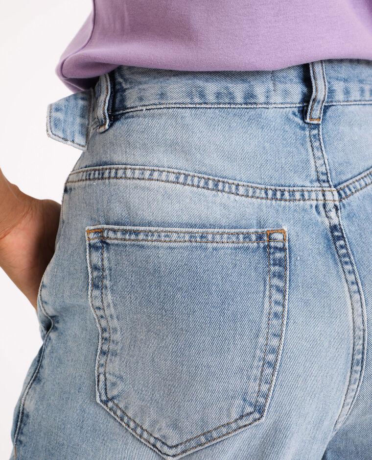 Jeans slouchy blu delavato