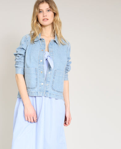 Giacca in jeans blu
