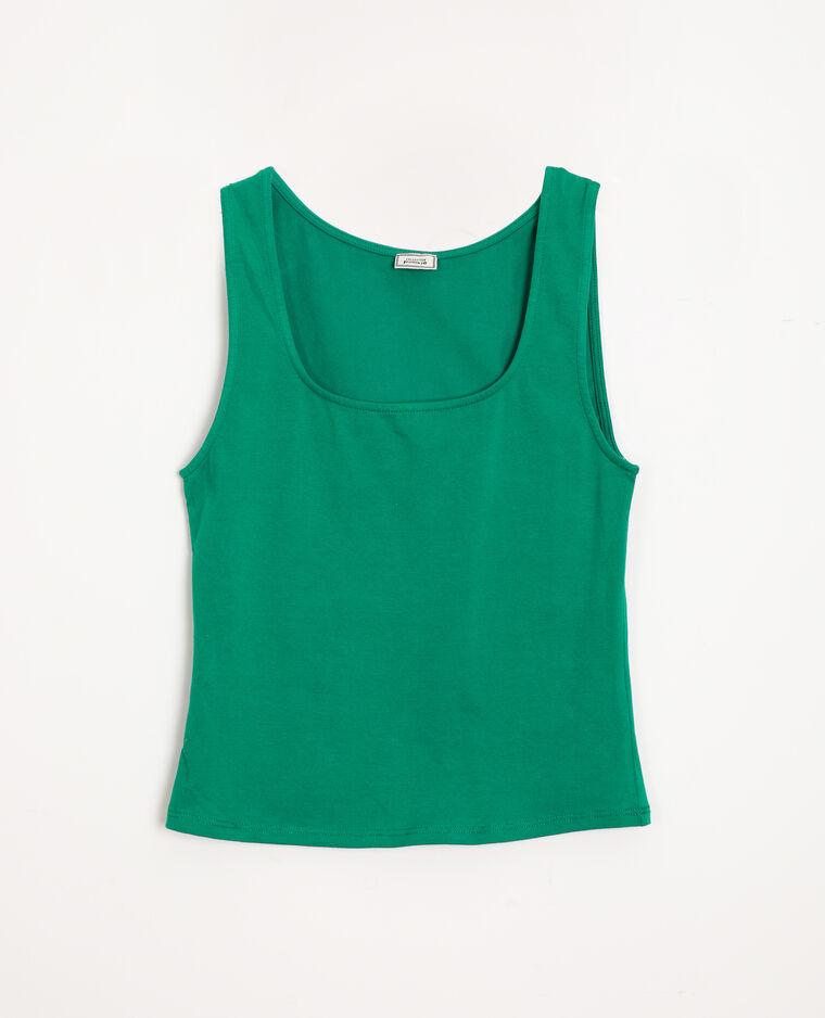 Canotta basic verde