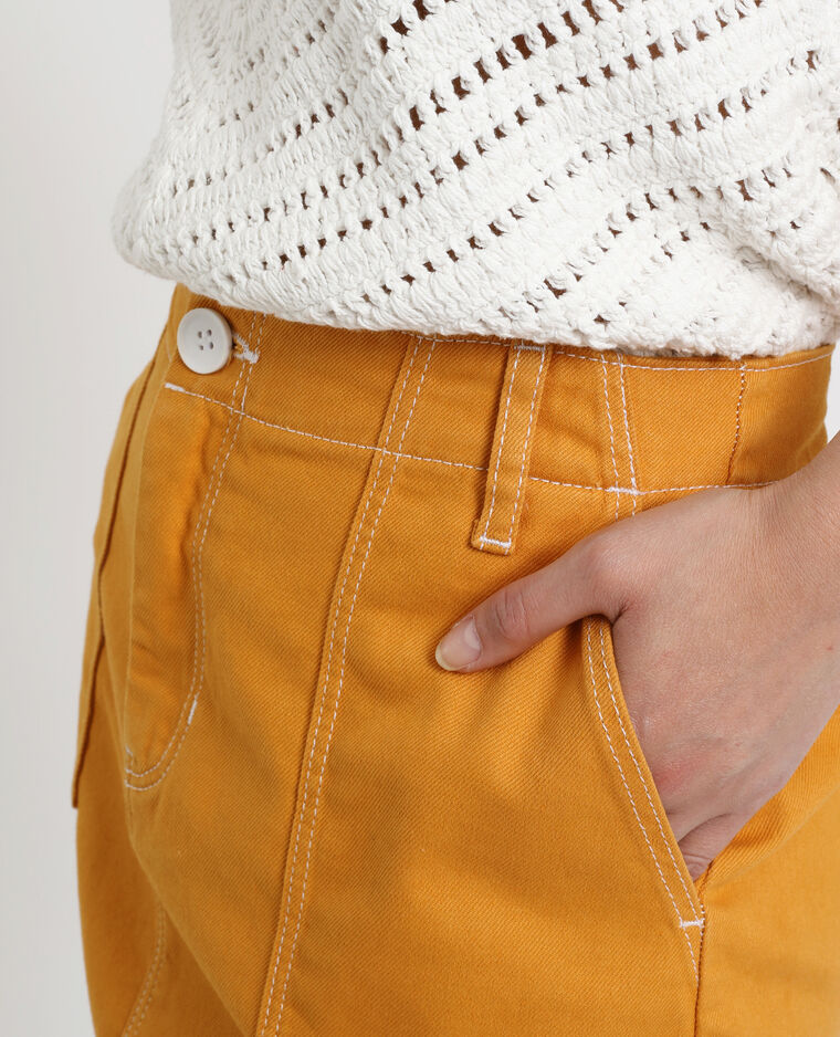 Gonna in jeans giallo