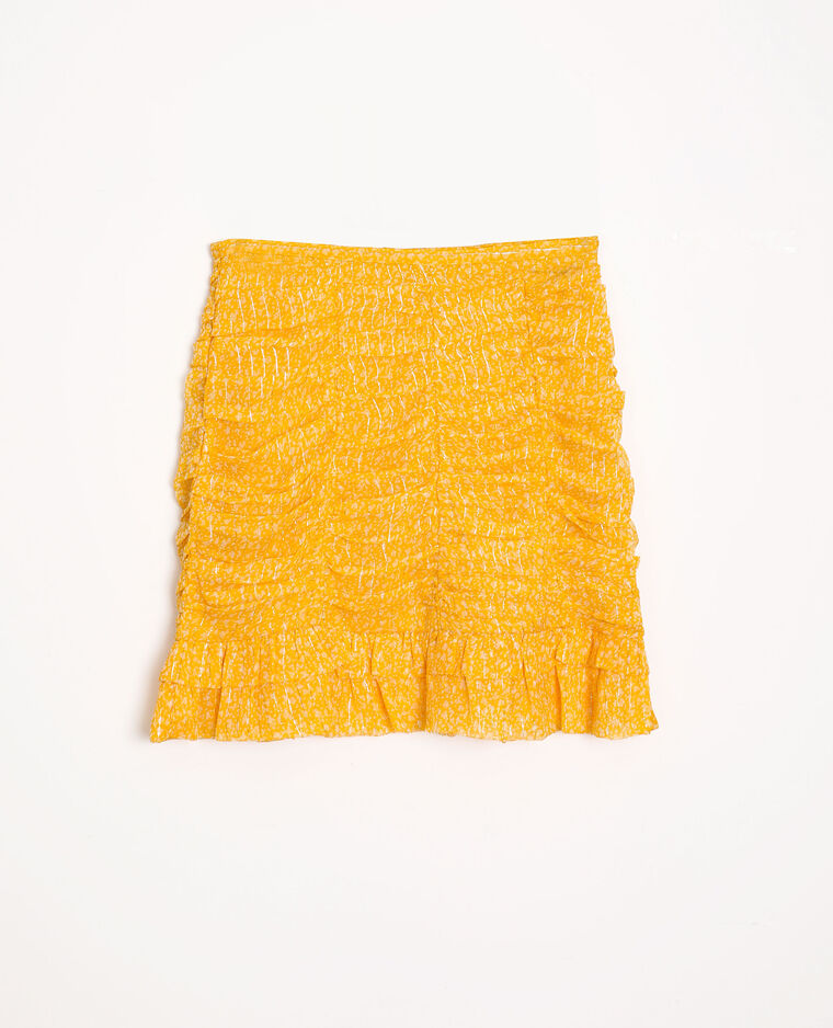 Gonna a fiori giallo - Pimkie