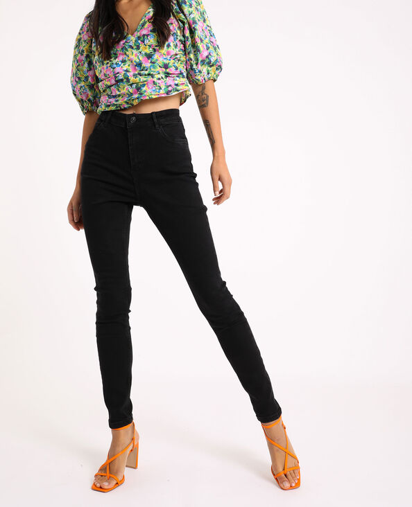 Jeans skinny high waist nero - Pimkie