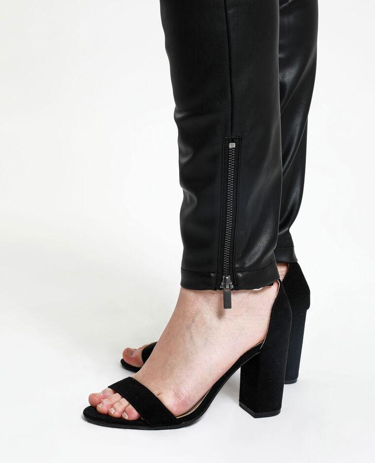 Pantalone in finta pelle. nero - Pimkie