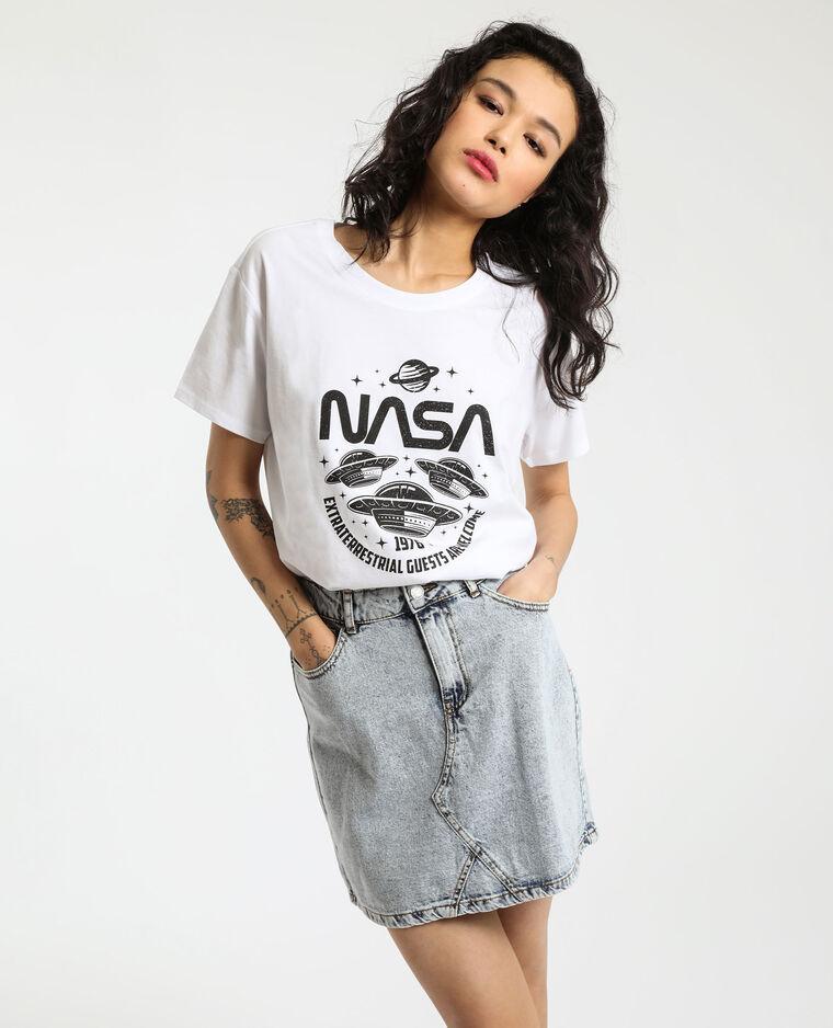 T-shirt NASA bianco