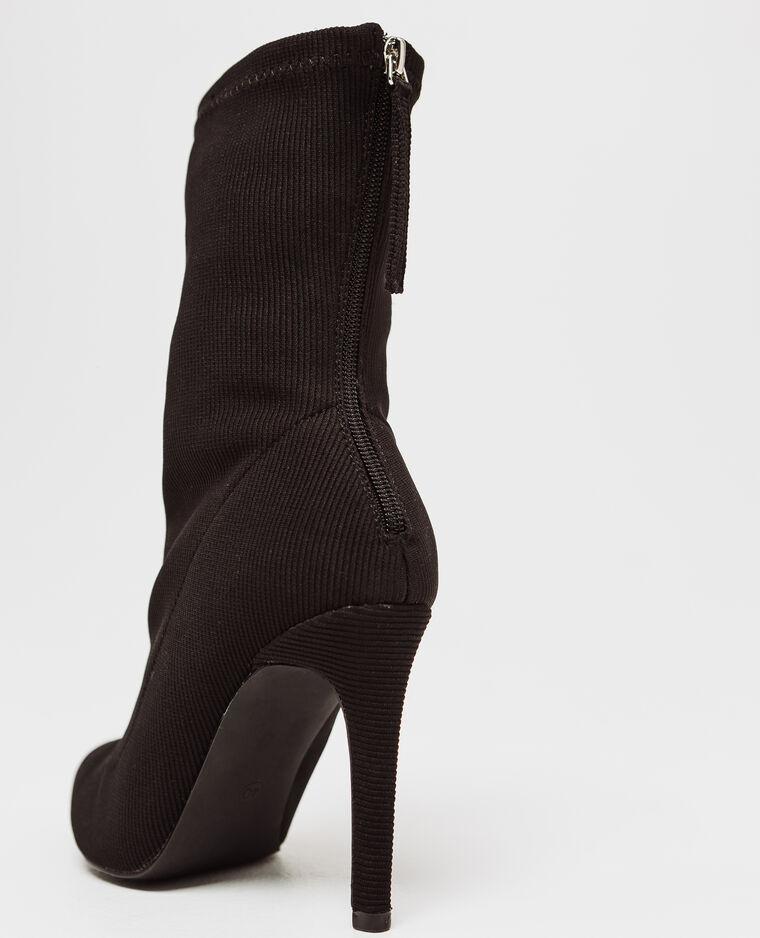 Boots con tacchi a spillo nero