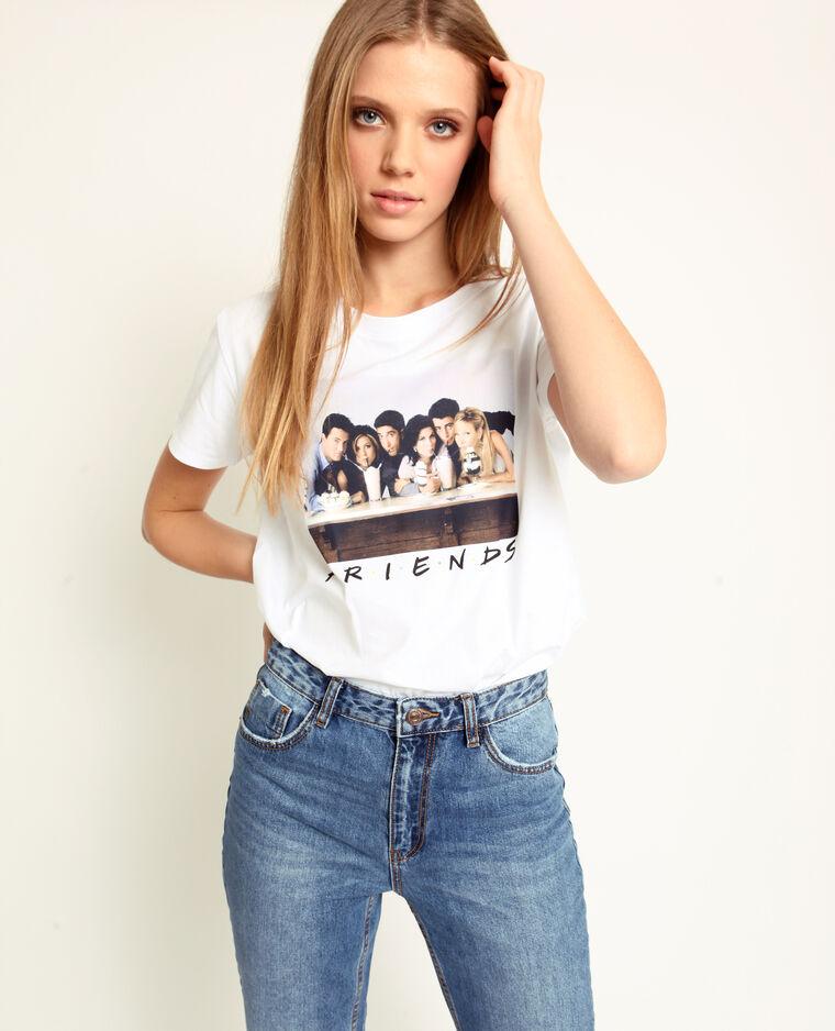 T-shirt FRIENDS bianco