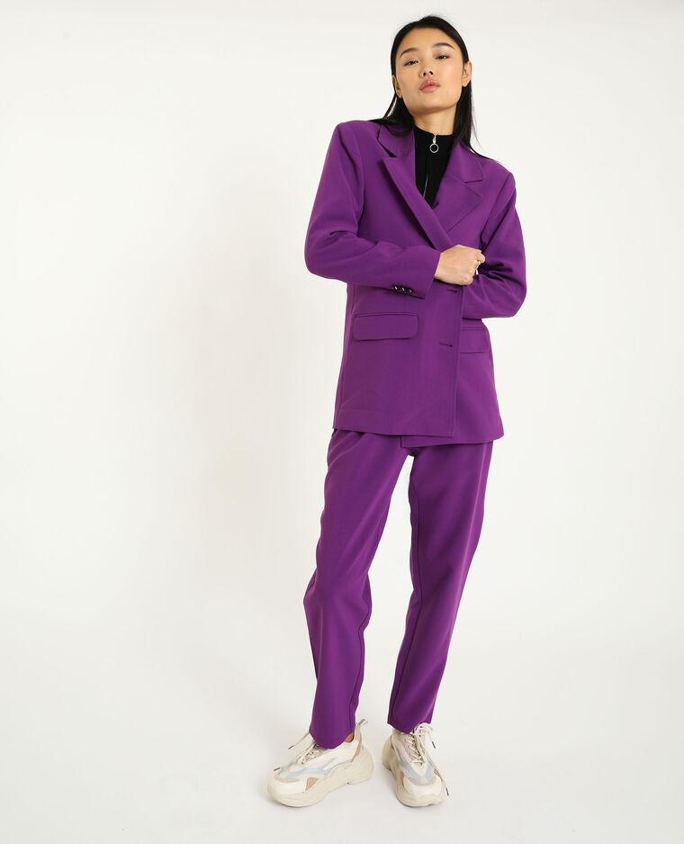 Pantalone a vita alta viola - Pimkie