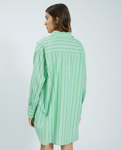 Camicia oversize blu - Pimkie