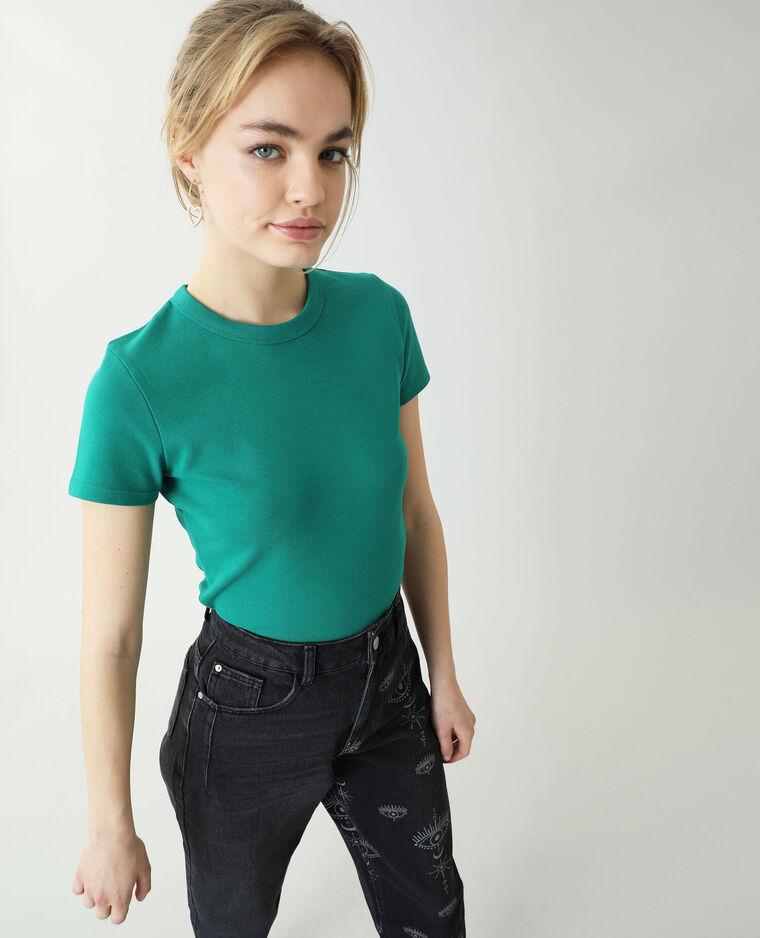 T-shirt basic verde