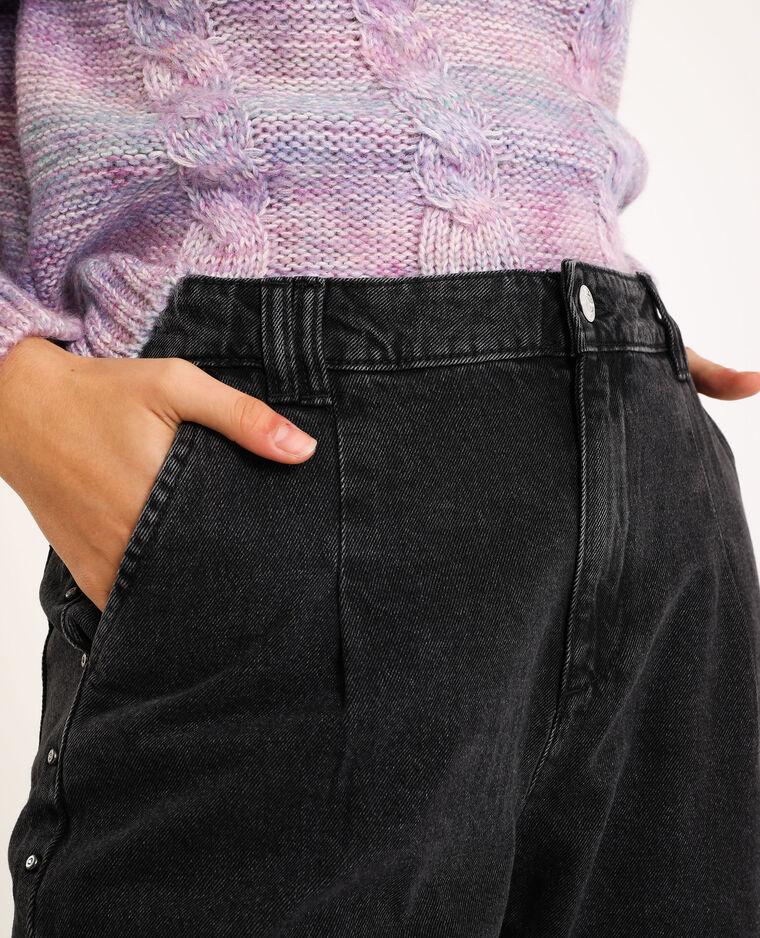 Jeans mom nero - Pimkie