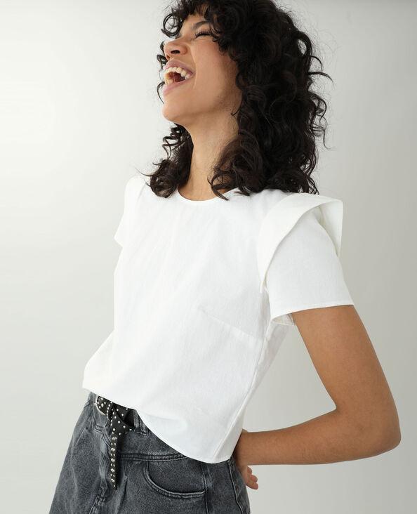 Blusa bianco sporco - Pimkie