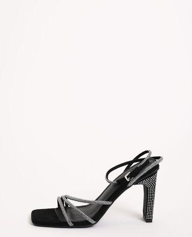 Sandali con strass nero - Pimkie