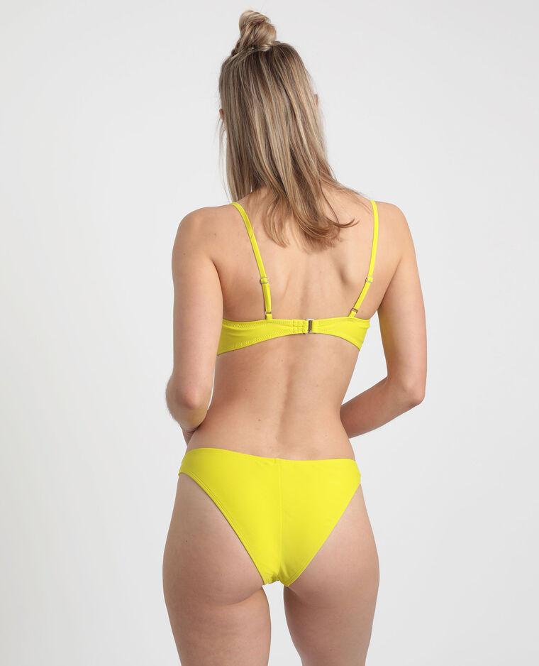 Pezzo sotto di bikini tanga verde