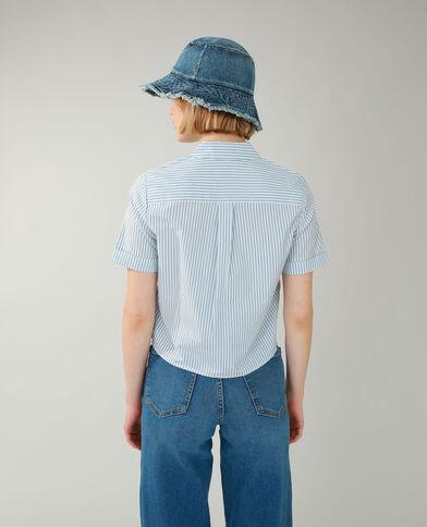 Camicia a righe grigio - Pimkie