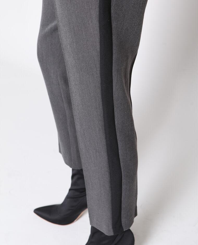 Pantalone a sigaretta grigio antracite