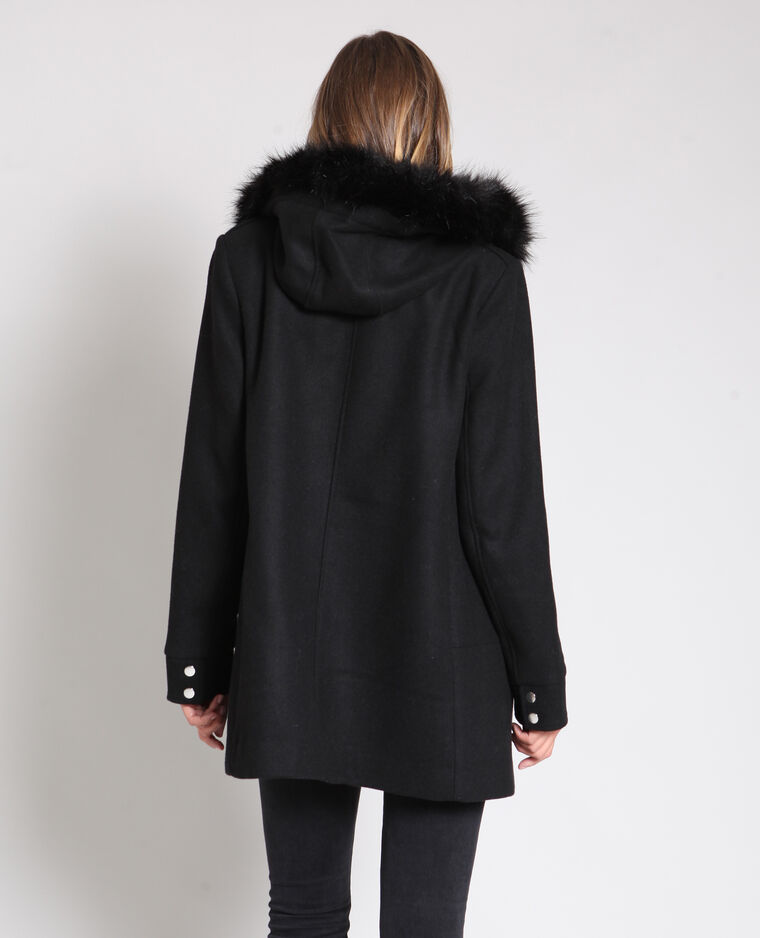 Cappotto di media lunghezza nero