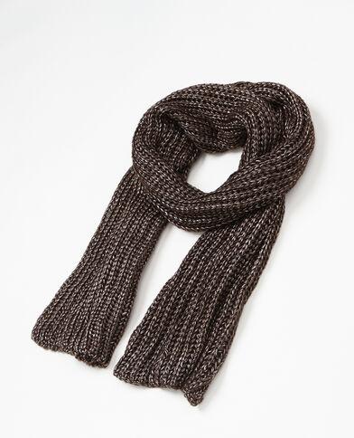 Sciarpa in maglia nero