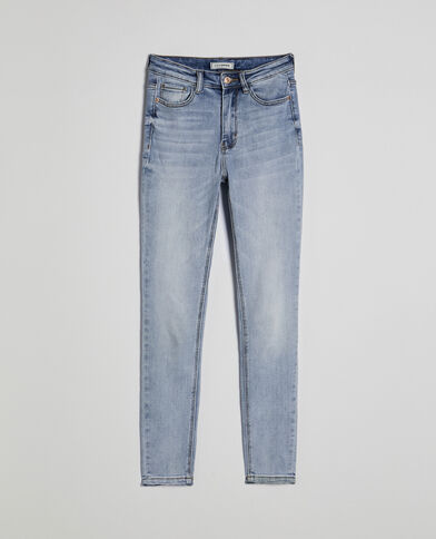 Jeans skinny blu chiaro