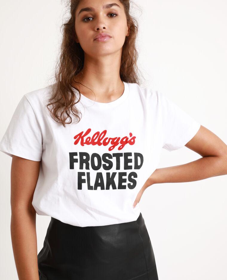 T-shirt Kellogg's bianco