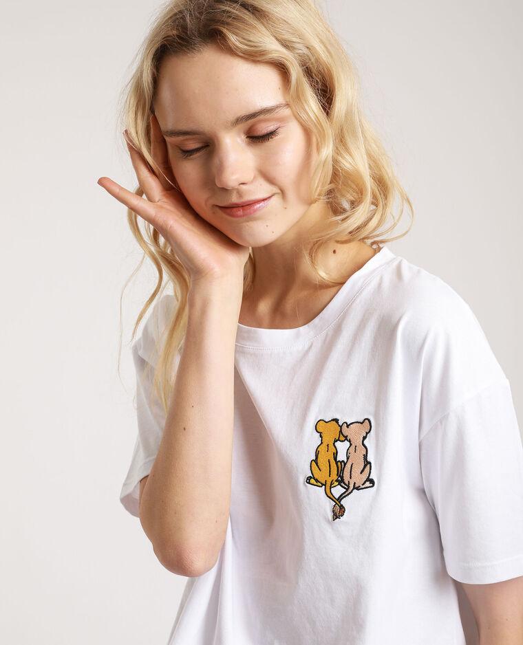 T-shirt Il Re Leone bianco
