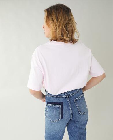 T-shirt ampia rosa