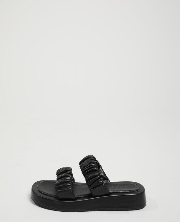 Sabot plissettati nero - Pimkie