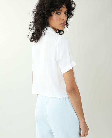 Camicia bianco sporco - Pimkie