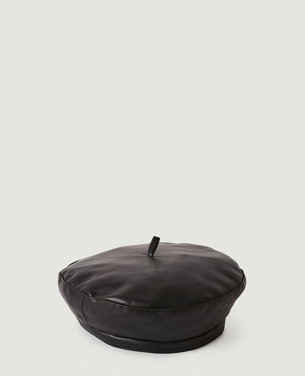 Basco in similpelle nero - Pimkie