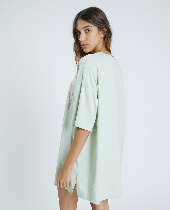 T-shirt oversize verde - Pimkie
