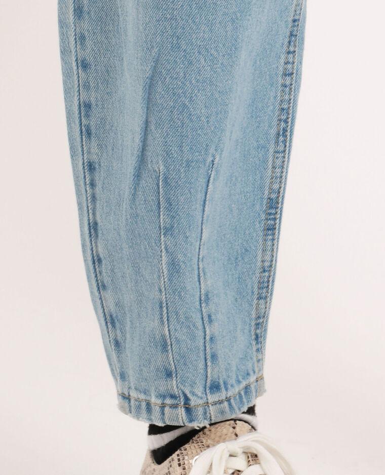 Jeans slouchy blu denim