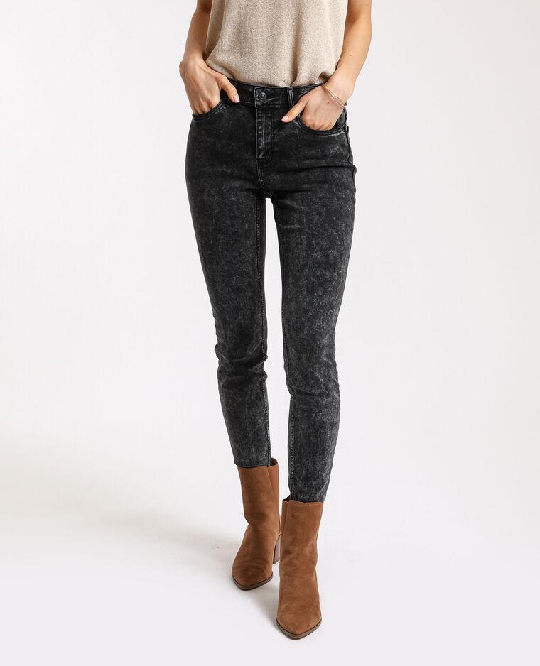 Jeans skinny push up grigio antracite