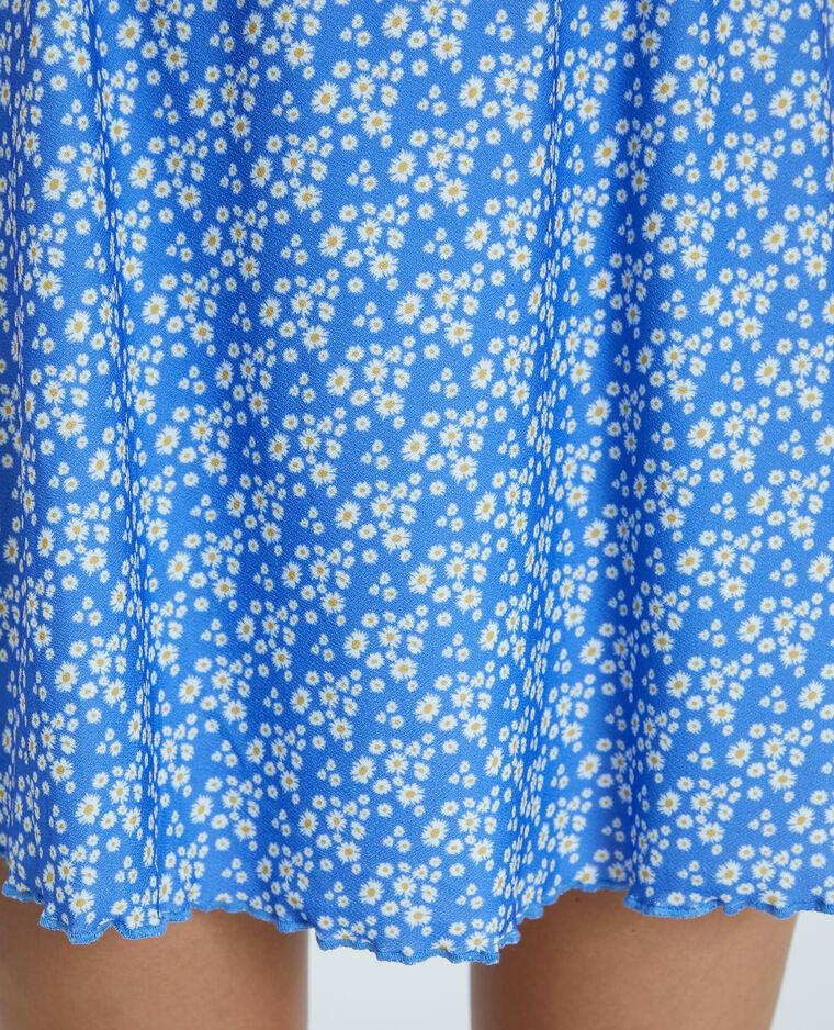 Minigonna a fiori blu - Pimkie