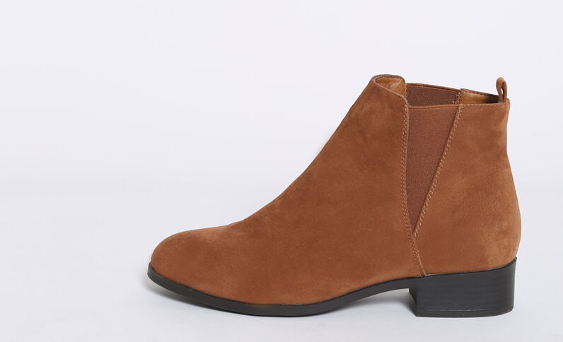 Boots chelsea marrone
