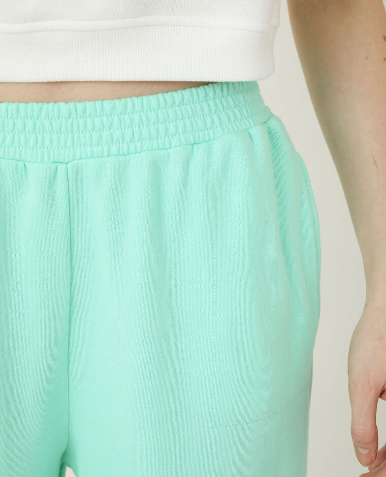 Pantalone da jogging verde acqua