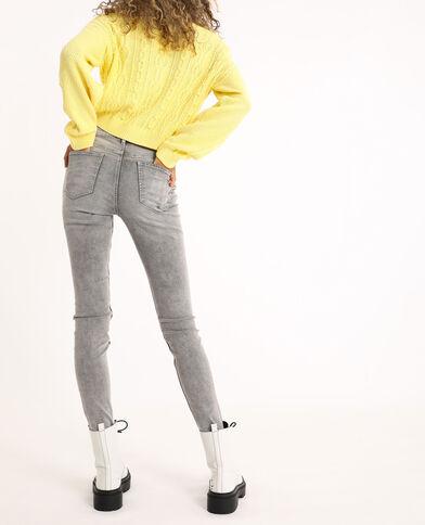 Jeans skinny mid waist grigio - Pimkie