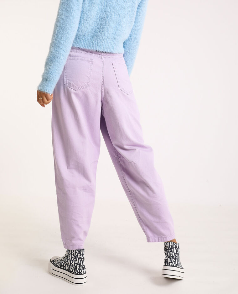 Jeans slouchy rosa cipria