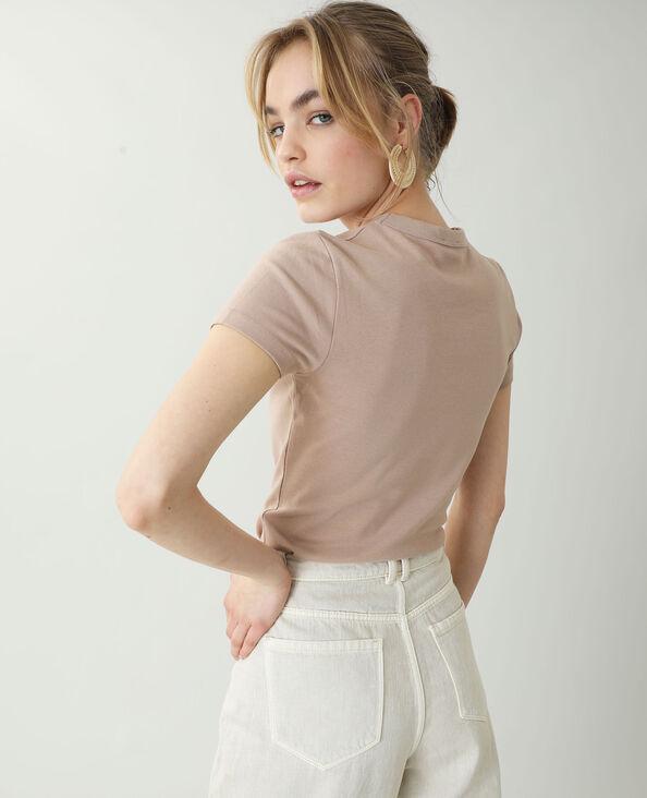 T-shirt basic rosa