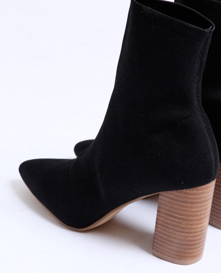 Stivaletti a calza nero