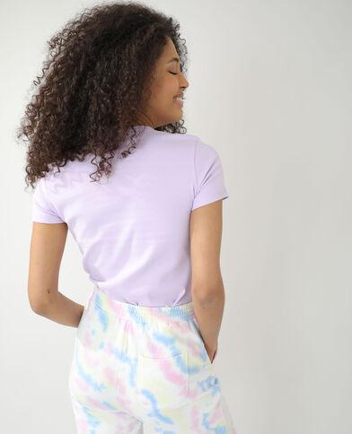 T-shirt basic viola - Pimkie